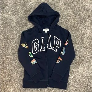 NWT Boys Gap Justice League Hooded Sweatshirt